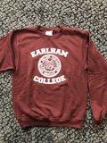 Champion Crewneck Sweatshirt with Earlham Seal