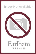 "BAG - Mesh Pocket Drawcord Bag - 14"" x 16.5"". Imprint Area: 6"" w x 6"" h - Gray with maroon imprint - Earlham College logo"