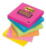 "Post-It Super Sticky Notes, 3""x3"","