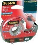"WALLSAVER POSTER TAPE 3/4"" X 150"""