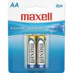 Maxell AA Batteries, 2 pack