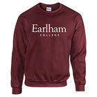 Earlham College Crew Sweatshirt, Maroon
