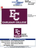 Earlham College Garden Flag