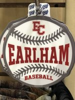 STICKER - Earlham Basball