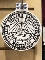 STICKER - Earlham Seal, Small