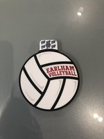 STICKER - Earlham Volleyball