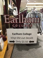 DECAL - Cut Vinyl, Earlham College