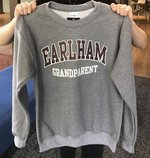 Earlham College Grandparent Crew Sweatshirt
