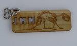 JMM Wood Key Chain