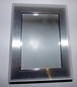 Earlham College 5X7 Picture Frame Silver