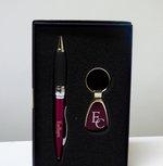 Pen & Key Ring Gift Set