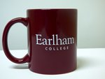 Mug: Earlham College Maroon