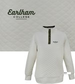 Quilted Snap Pullover, S