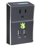 OnHand Wall Outlet w/Dual USB