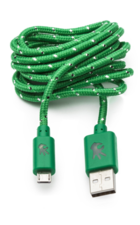 OnHand Cable Nylon USB Micro 5ft, Green