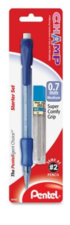 Pentel Champ Starter Kit, Mechanical Pencil 0.5mm with lead