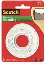 "MOUNTING TAPE ROLL, 1/2""- 75"""