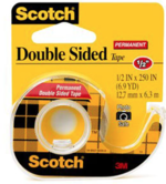 "DOUBLE STICK TAPE 1/2""x 250"""