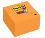 POST-IT SUPR STICK NEON,3X3