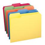 Single Manila File Folder