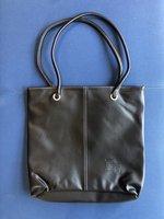 "Tote Bag with ""EC"" Deboss - Black"