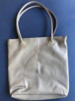 "Tote Bag with ""EC"" Deboss - Grey"