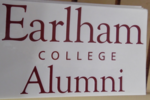 Earlham College Alumni Window Decal