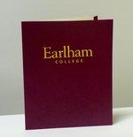 Earham College Maroon Folder