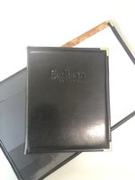Padfolio - Black, Deboss Earlham College